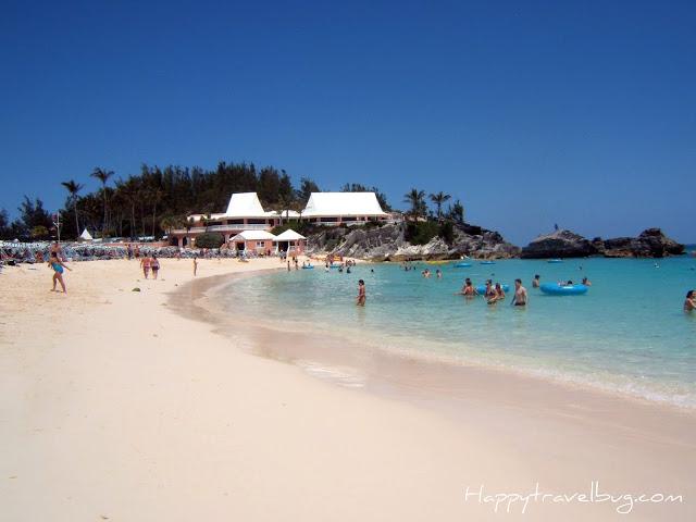 Pink Sand beach in Bermuda