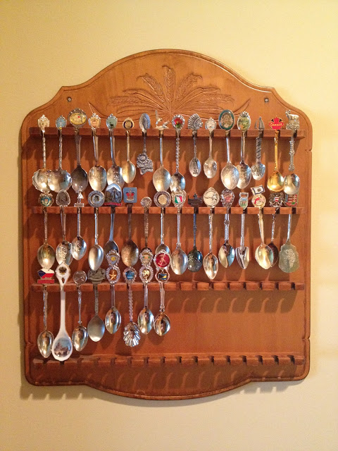 Spoon collection and holder