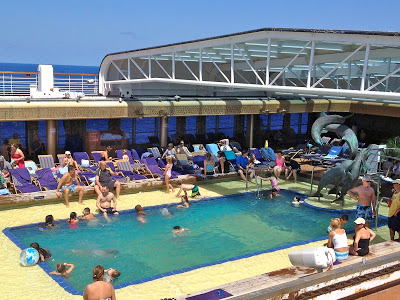Family pool on Holland America's Noordam