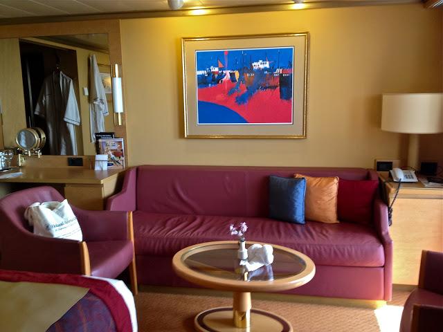 Superior Suite on the Holland America Noordam