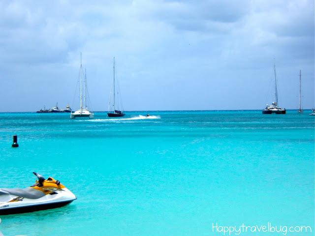 Jet skiing in St Maarten