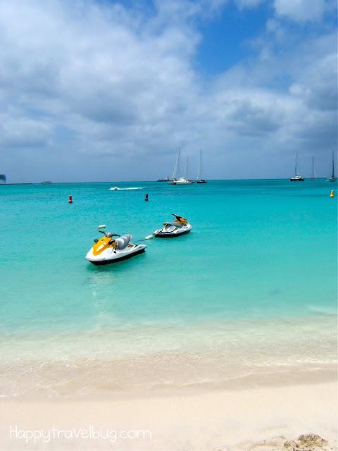 Jet skis in St Maarten
