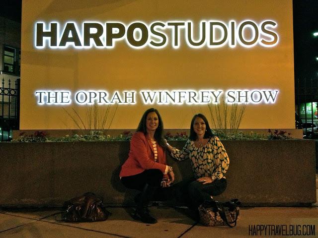 The Oprah Show sign at Harpo Studios