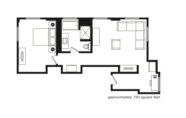 tower suite layout