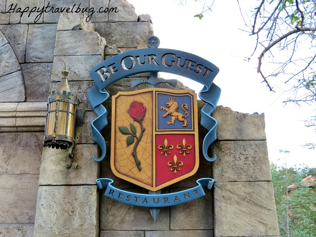 Be Our Guest Restaurant sign at Disney World