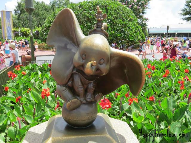 Dumbo sculpture at Disney World