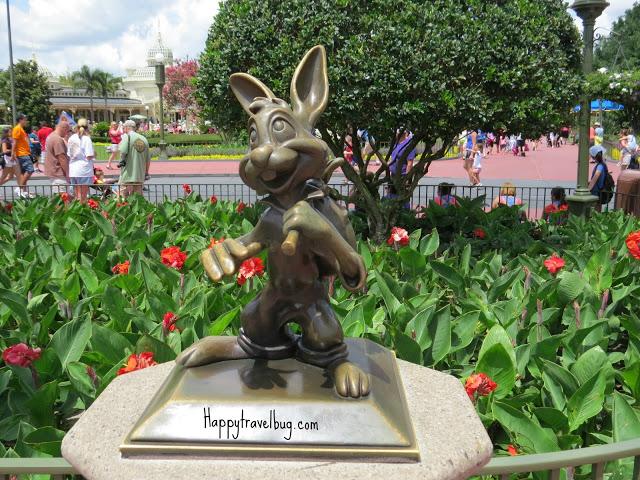 Brer Rabbit sculpture at Disney World