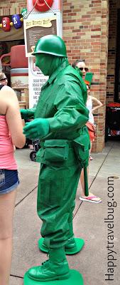 Green Army Man at Disney's Hollywood Studios