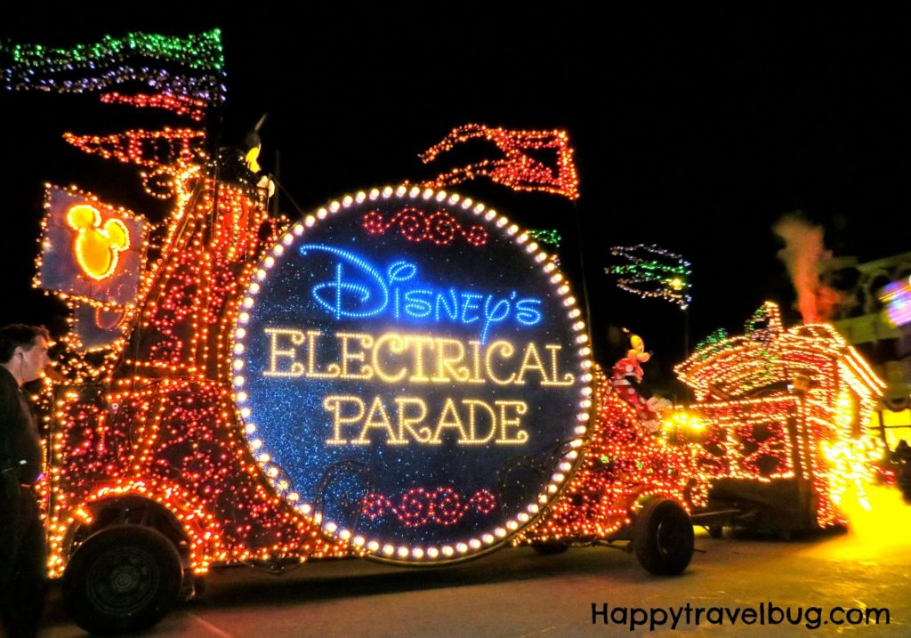Disney's Electrical Parade at Magic Kingdom