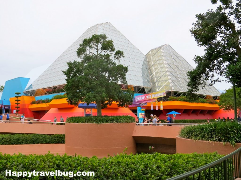 Journey into Imagination at Epcot in Disney World