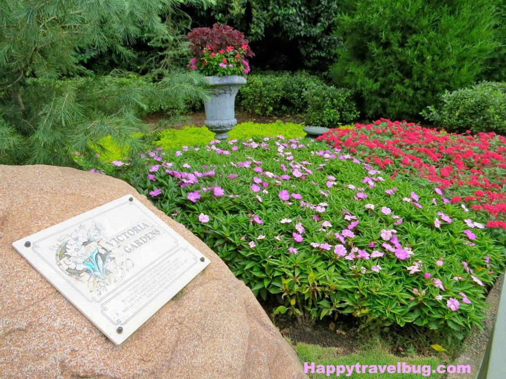 Victoria Garden's in Epcot's Canada (Disney World)