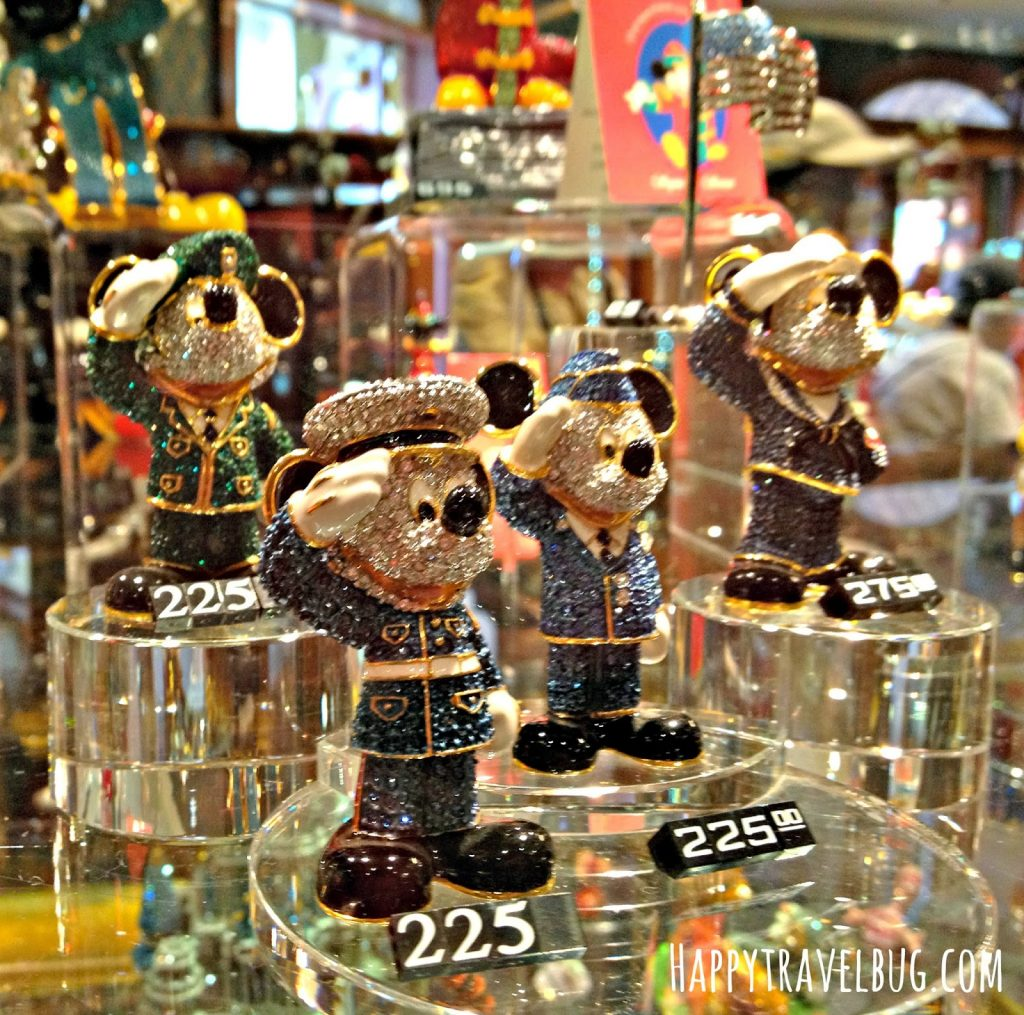 Mickey Mouse figurines