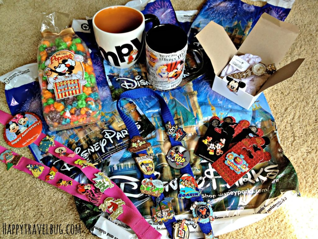 All the things I bought while at Disney World
