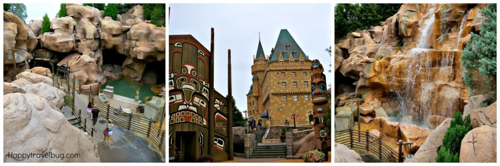 Canada in the world showcase at Epcot (Disney World)