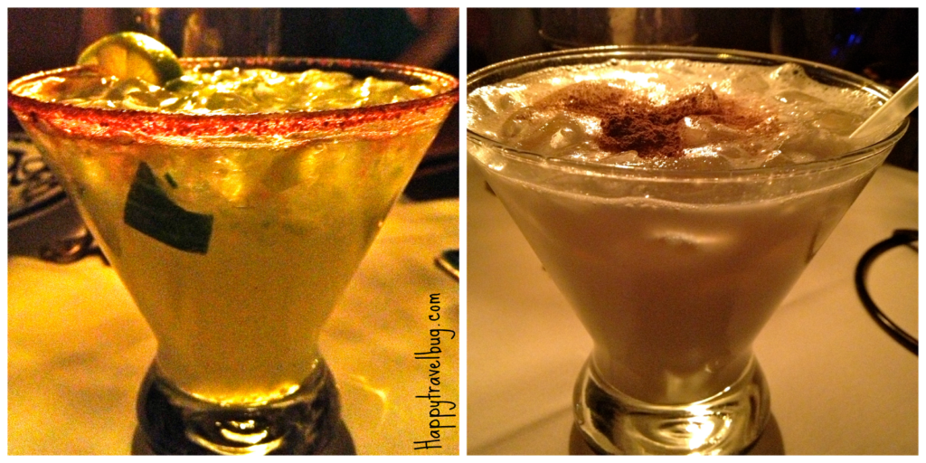 My delicious cocktails from San Angel Inn in Disney World's Epcot