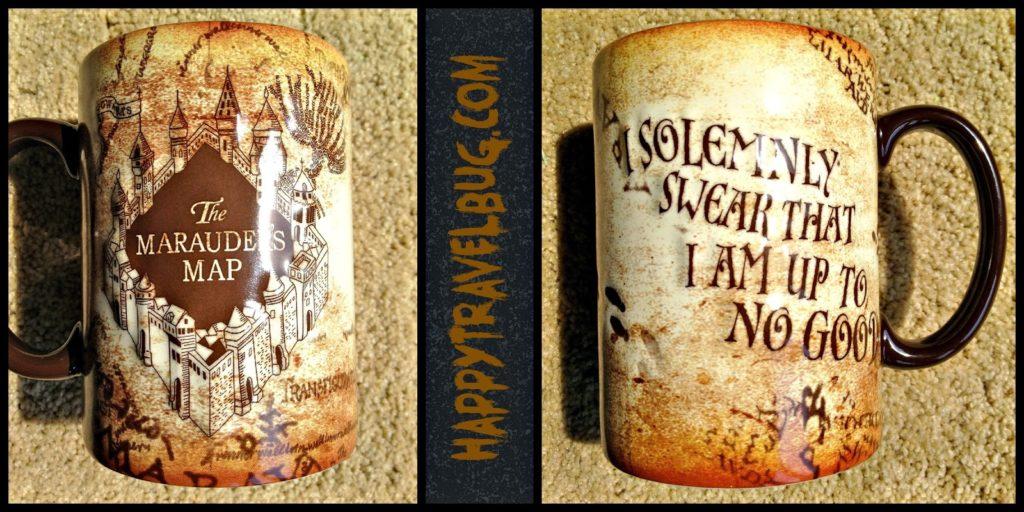 Harry Potter mug: The Marauder's Map