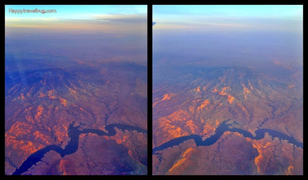 A river as seen from my airplane window...Happytravelbug.com