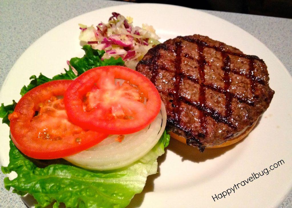 Hamburger from Wishbone in Chicago