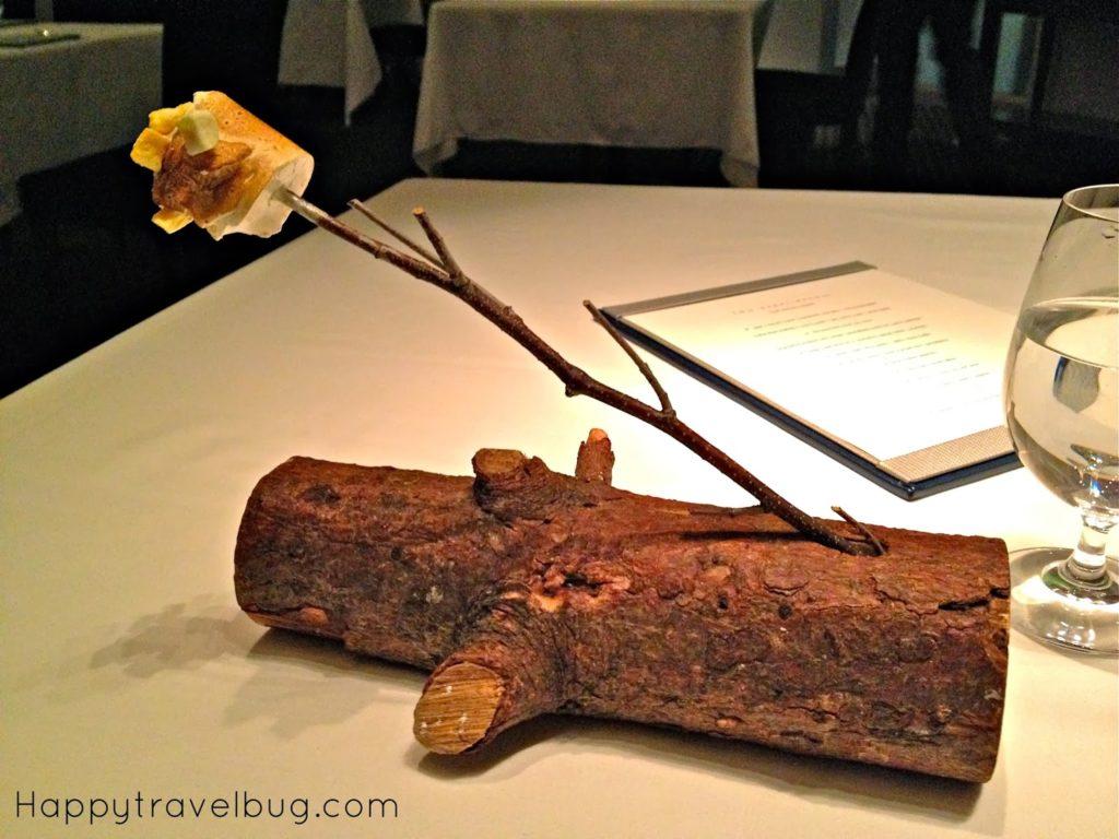 Passionate marshmallow at TRU restaurant in Chicago