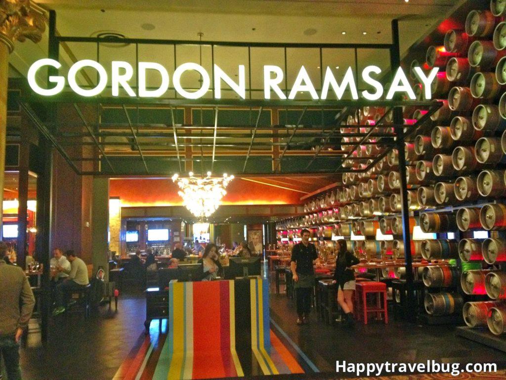 Gordon Ramsay Pub and Grill in las Vegas