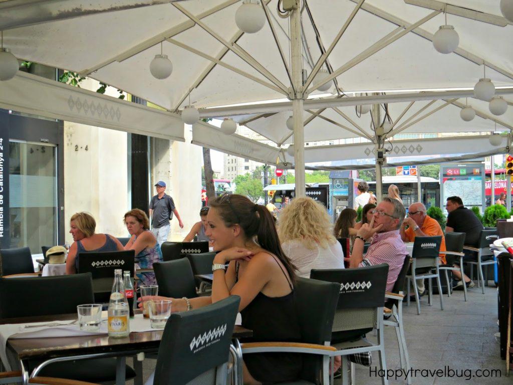 Trobador Restaurant in Barcelona, Spain