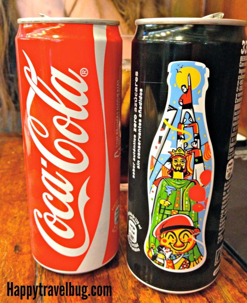 Barcelona, Spain coke can
