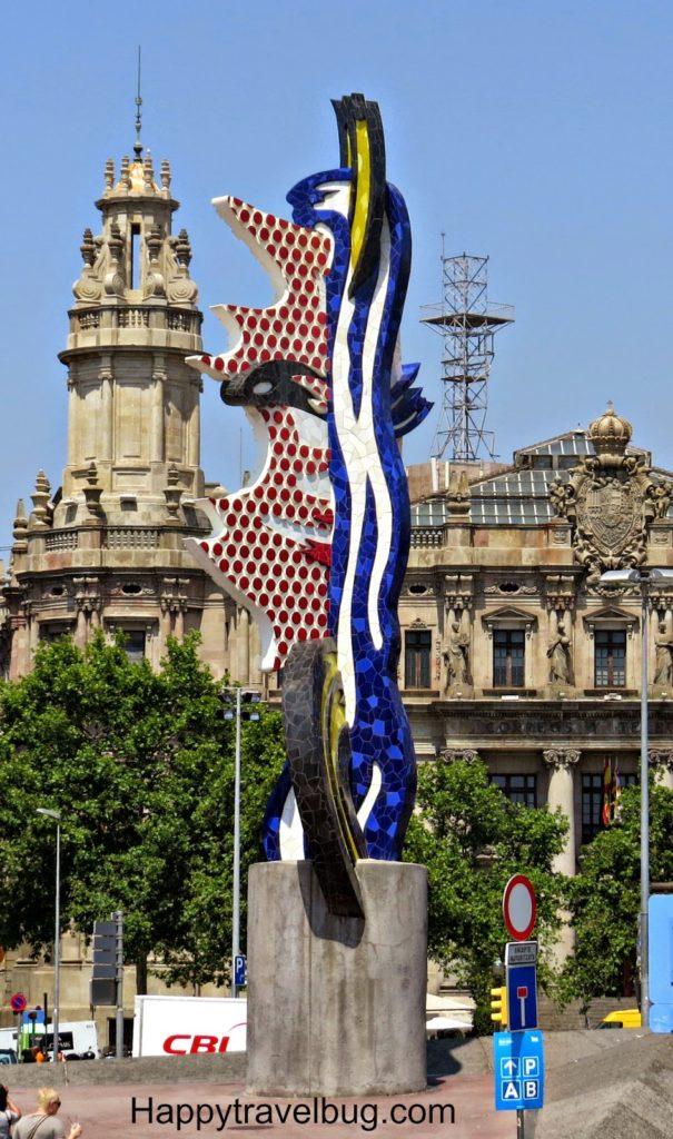 Barcelona Face by Roy Lichtenstein