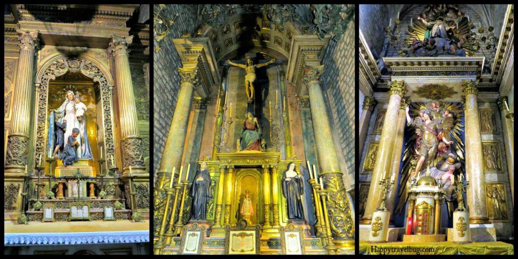The Basilica Santa Maria del Pi in Barcelona, Spain