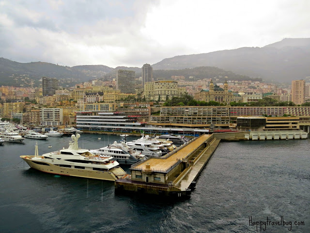 Lots of yachts in Monaco