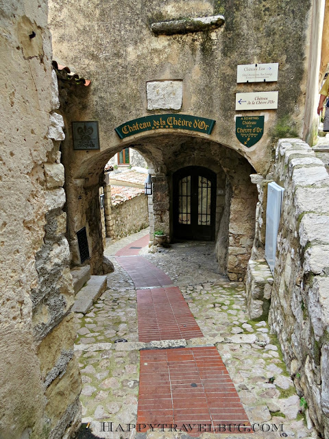 "The ""streets"" of Eze, France...no cars here"