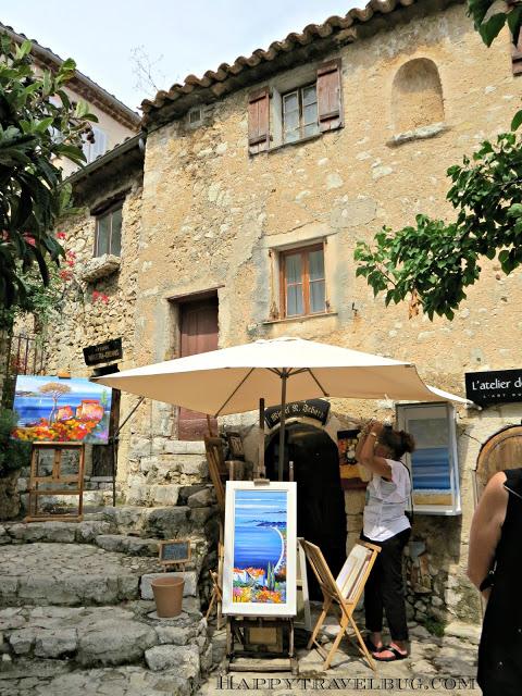 A little artist shop in Eze, France