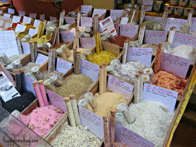 French bath salts in Nice, France