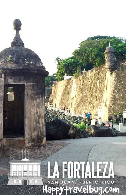 Fort walls in San Juan, Puerto Rico