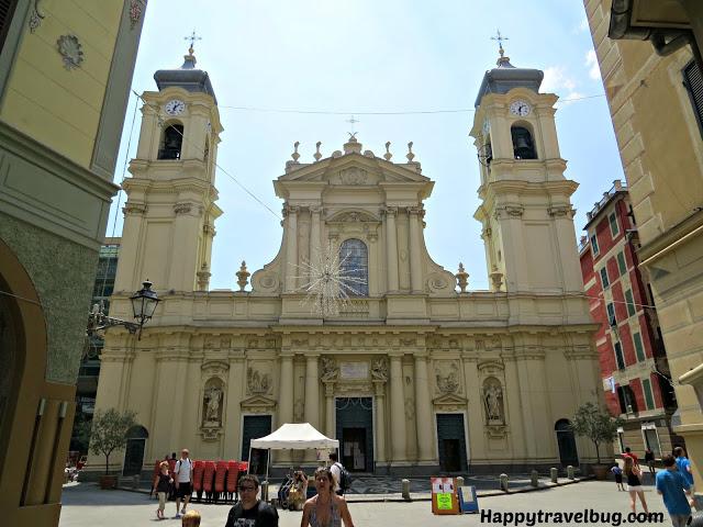 Beautiful church in Santa Margherita Ligure