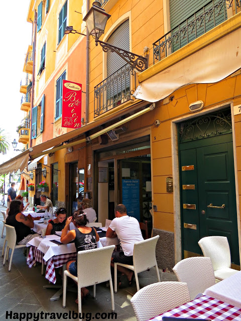 Baicin restaurant in Santa Margherita Ligure, Italy