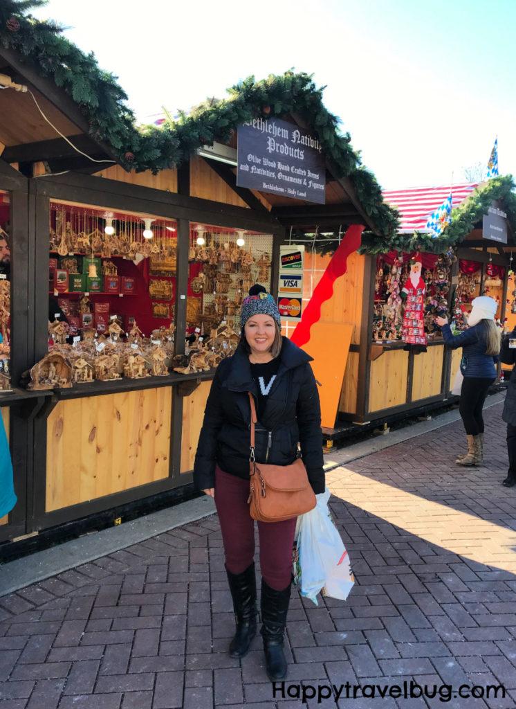 Christkindal market stalls