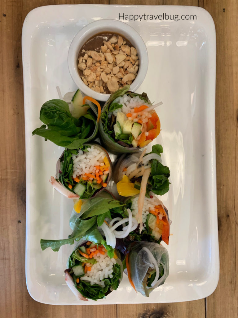 vegan garden roll
