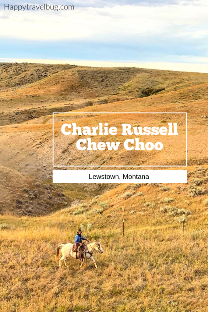 Man on a horse in the Montana hills