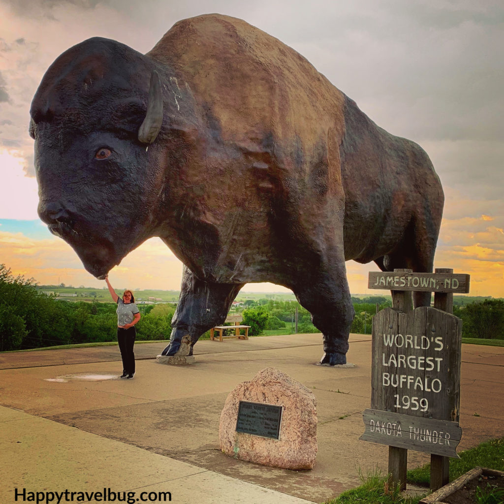worlds largest buffalo monument