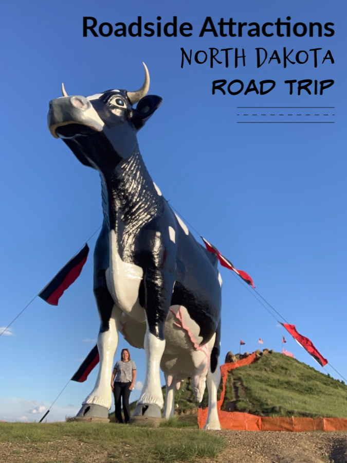 Giant Holstein Cow statue
