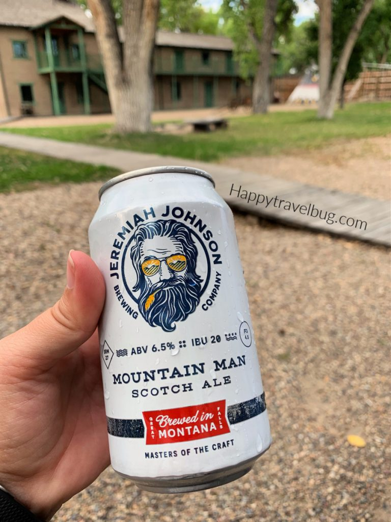 Jeremiah Johnson Montana beer