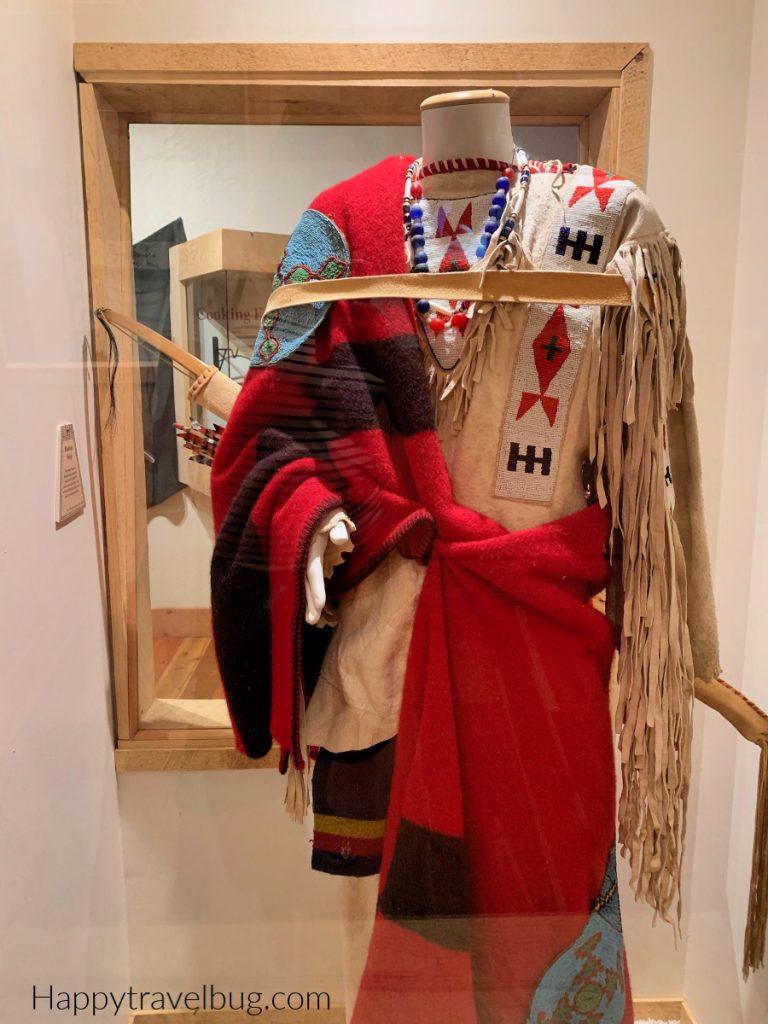 Blackfoot indian outfit