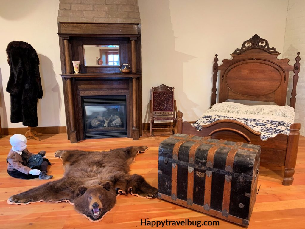Bedroom from 1880's Montana