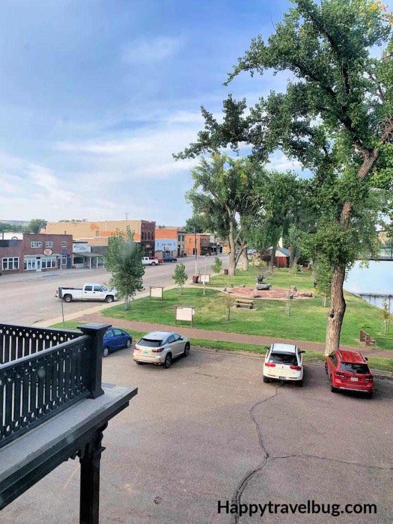 View of Fort Benton